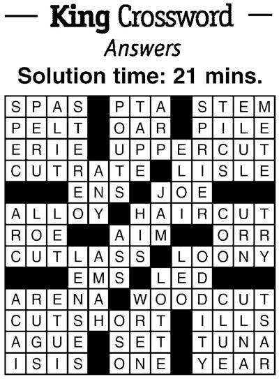 11/9 crossword answers