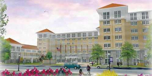 The Hotel Madison And Shenandoah Valley Conference Center Will Be Built On Corner Of South Main Street Martin Luther King Jr Way