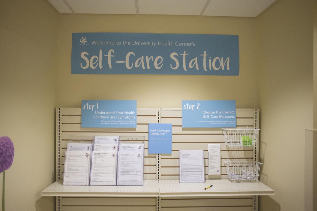 University Health Center Quot Self Care Station Quot Allows
