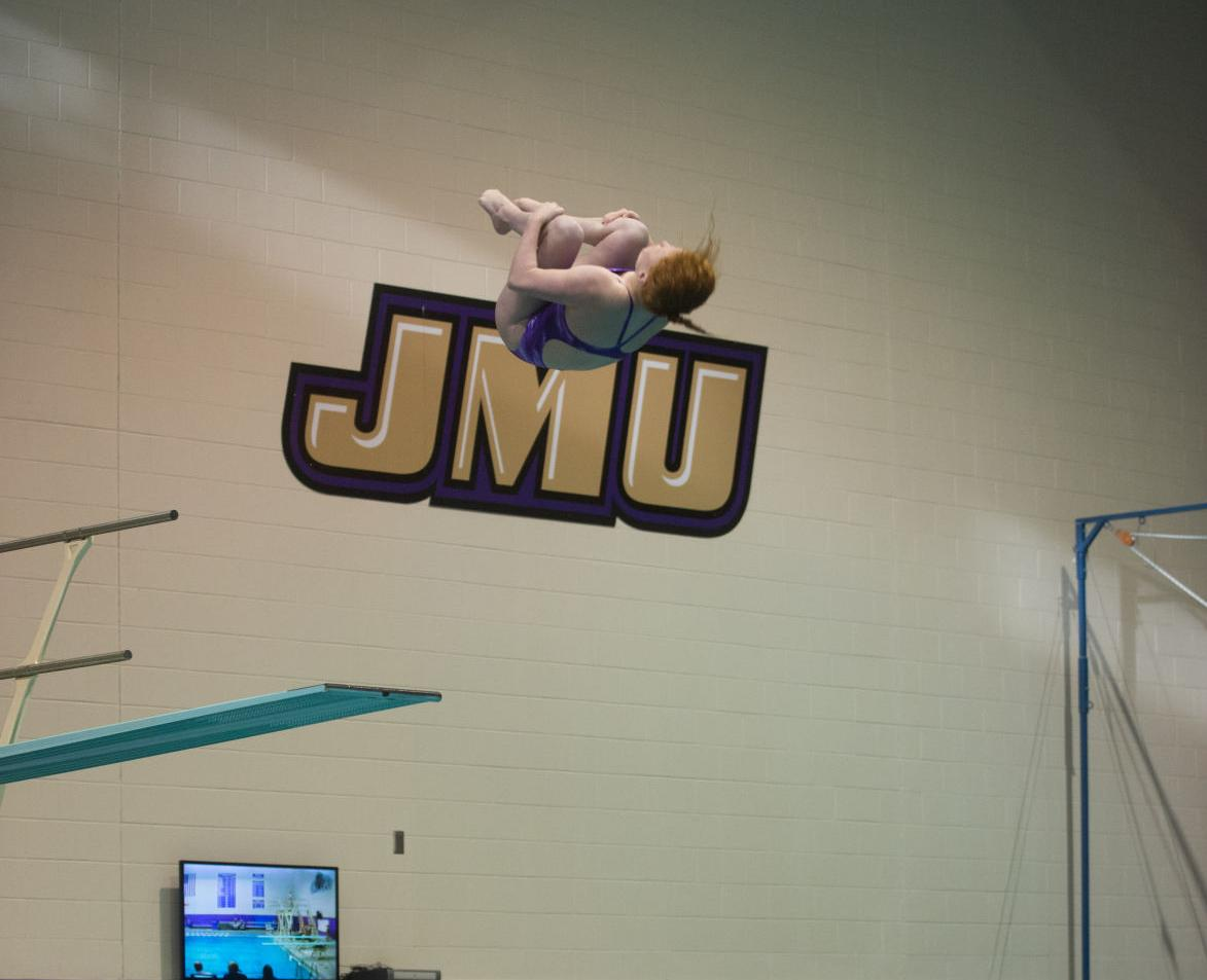 JMU swim & dive