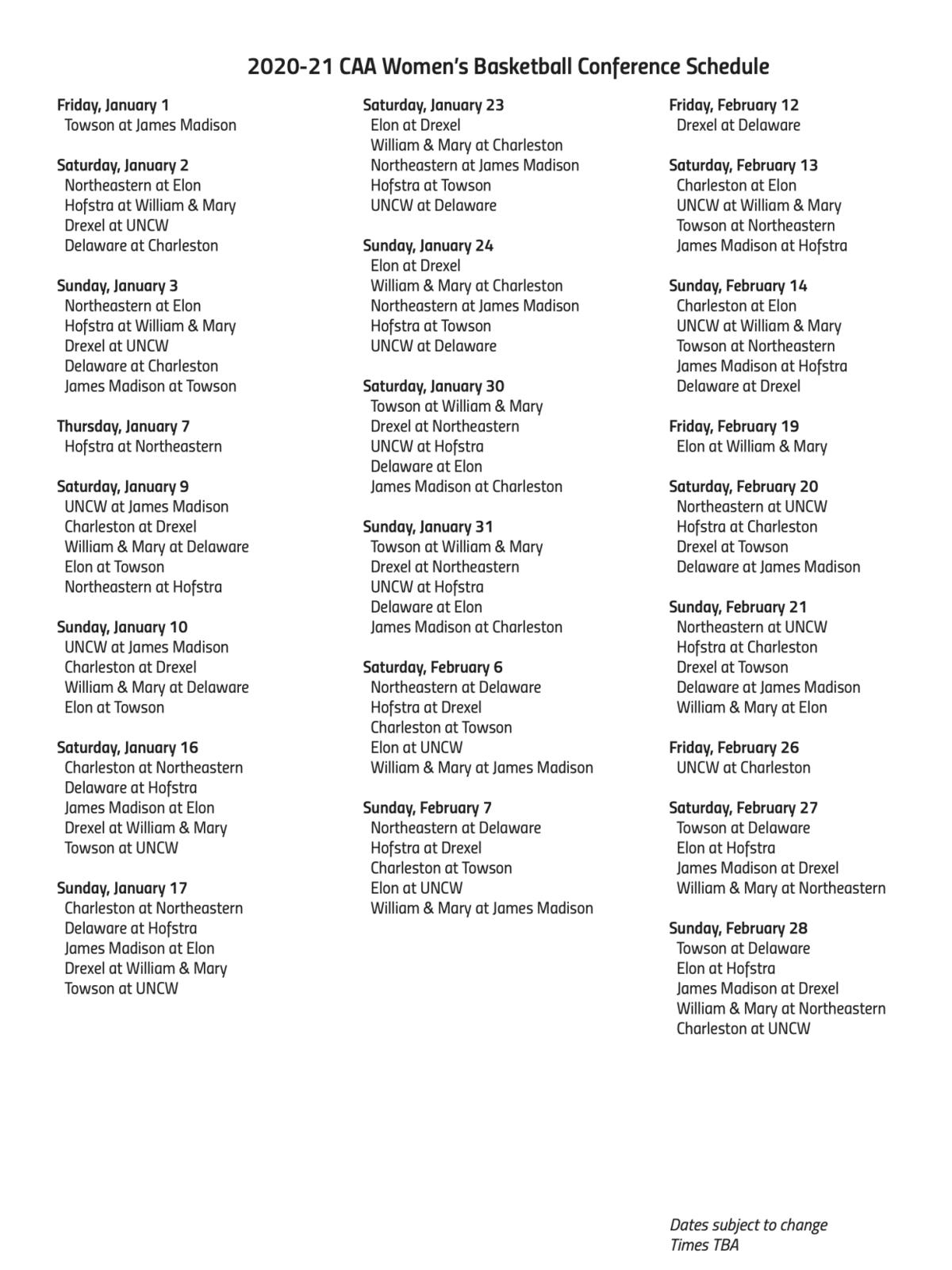 CAA women's schedule.png
