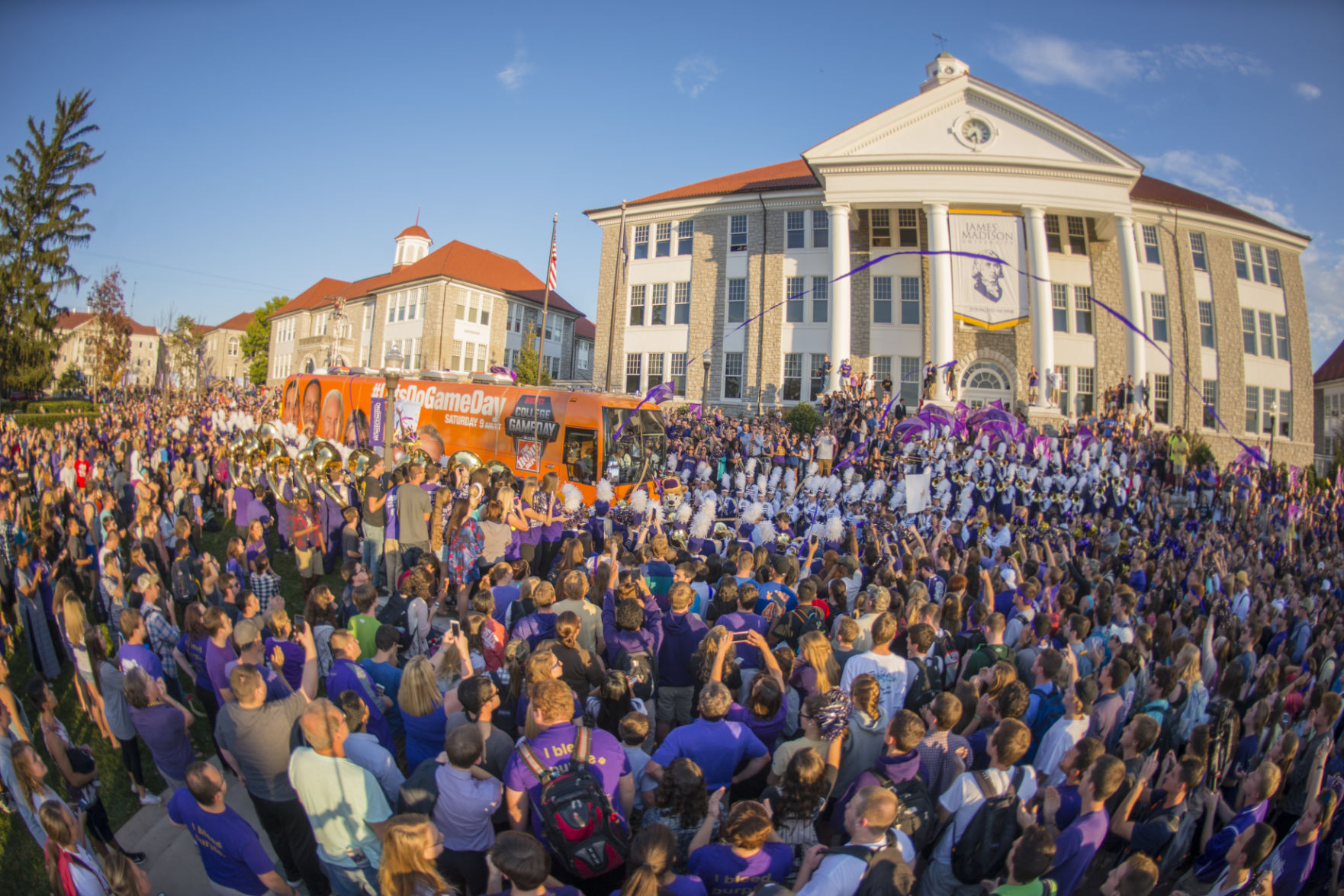 ESPN's 'College Game Day' Football Show Returning to JMU