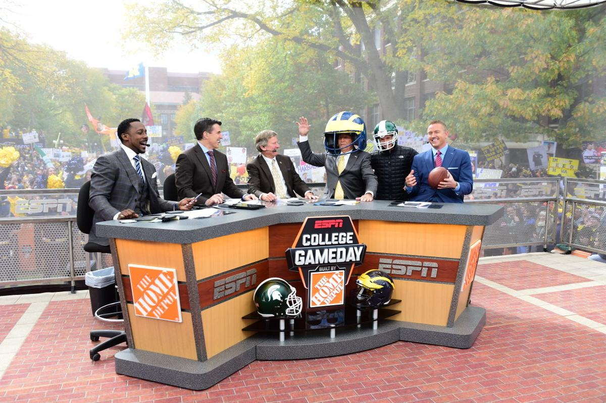 """Q&A with ESPN's """"College GameDay"""" on-air talent   Sports ..."""