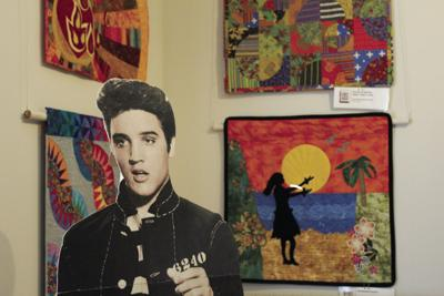 Elvis Presley is alive at the Virginia Quilt Museum