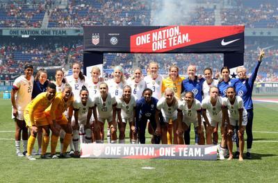 SPORTS-SOC-USWOMEN-WORLDCUP-TEAM-GET