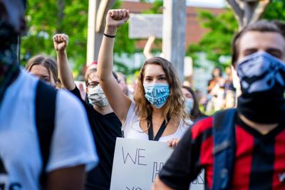 Students fight against racial injustice and police brutality