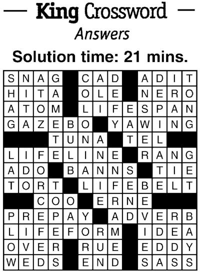 crossword 2/22