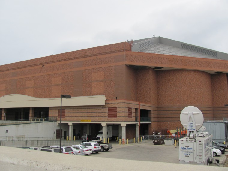 Outside look at the Fargodome