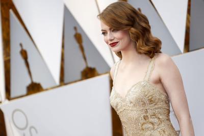 Emma Stone, who won Best Leading Actress, at this year's celebration.