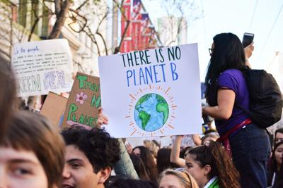 Climate protest photo