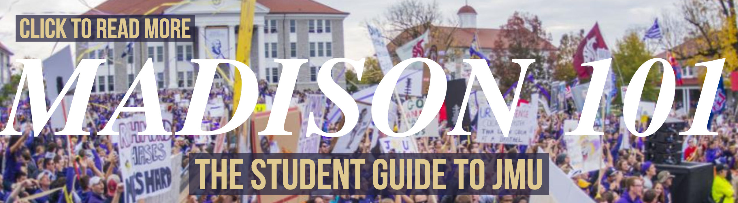 Madison 101 - Student Guide to JMU