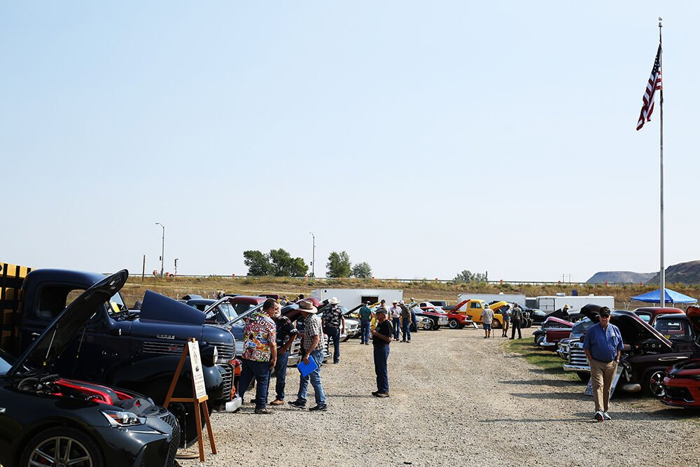 Car Show brought almost 100 vehicles