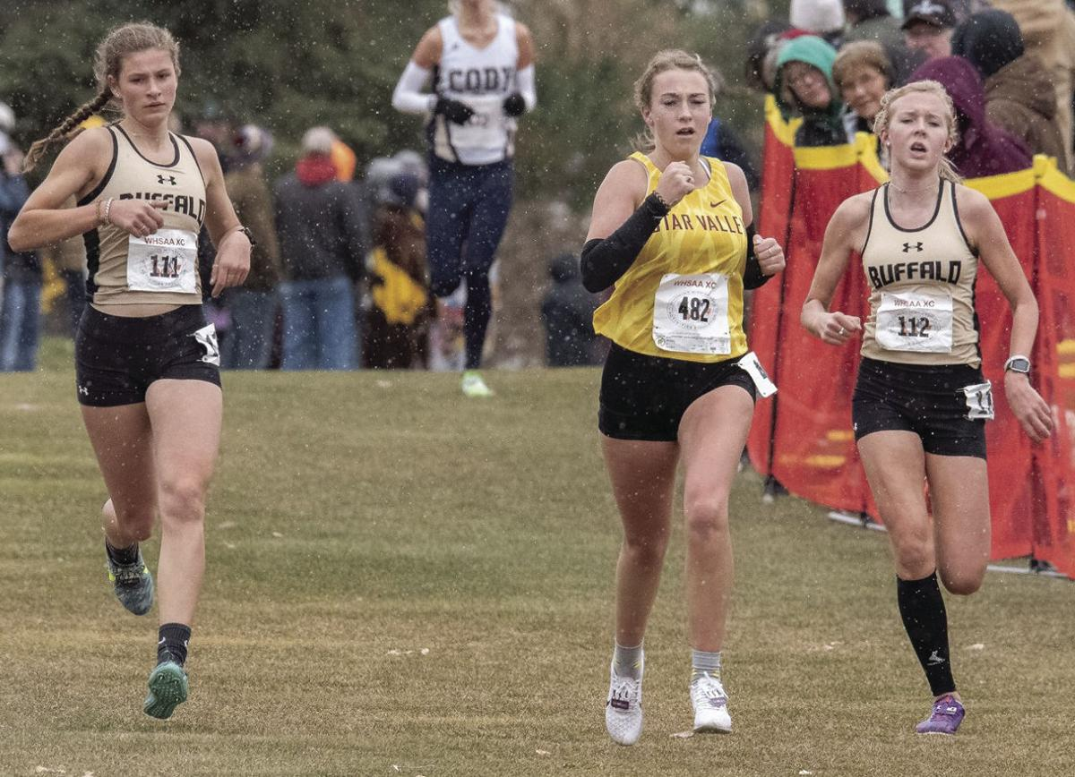 Lady Bison runners one of the best