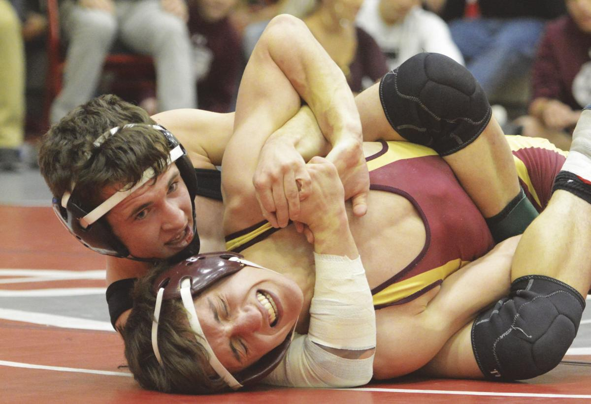Wrestlers represent at state 2