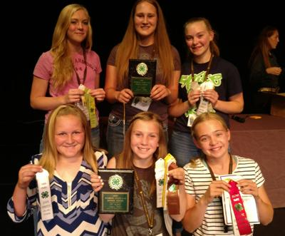Johnson County teams take third place in produce judging