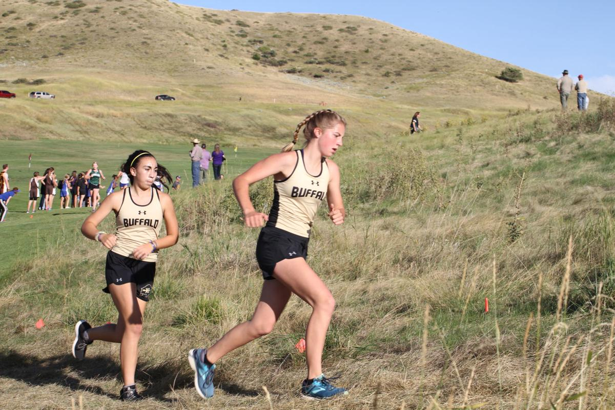 Cross-country girls set pace 1