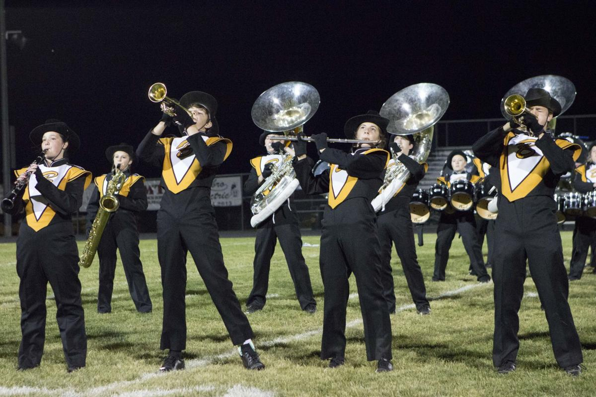Bison marching band