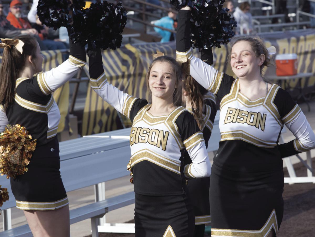 BHS cheer team busy in Laramie 1