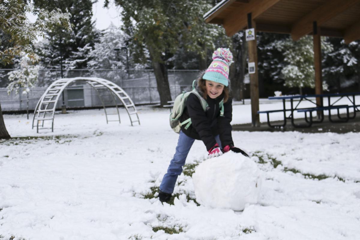 Major early-season snow forecast