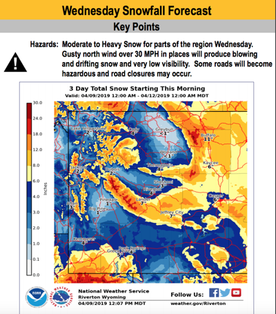 Area braces for Winter Storm Wesley | News | buffalobulletin com