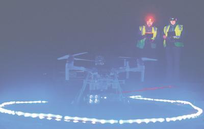 Drone lighting