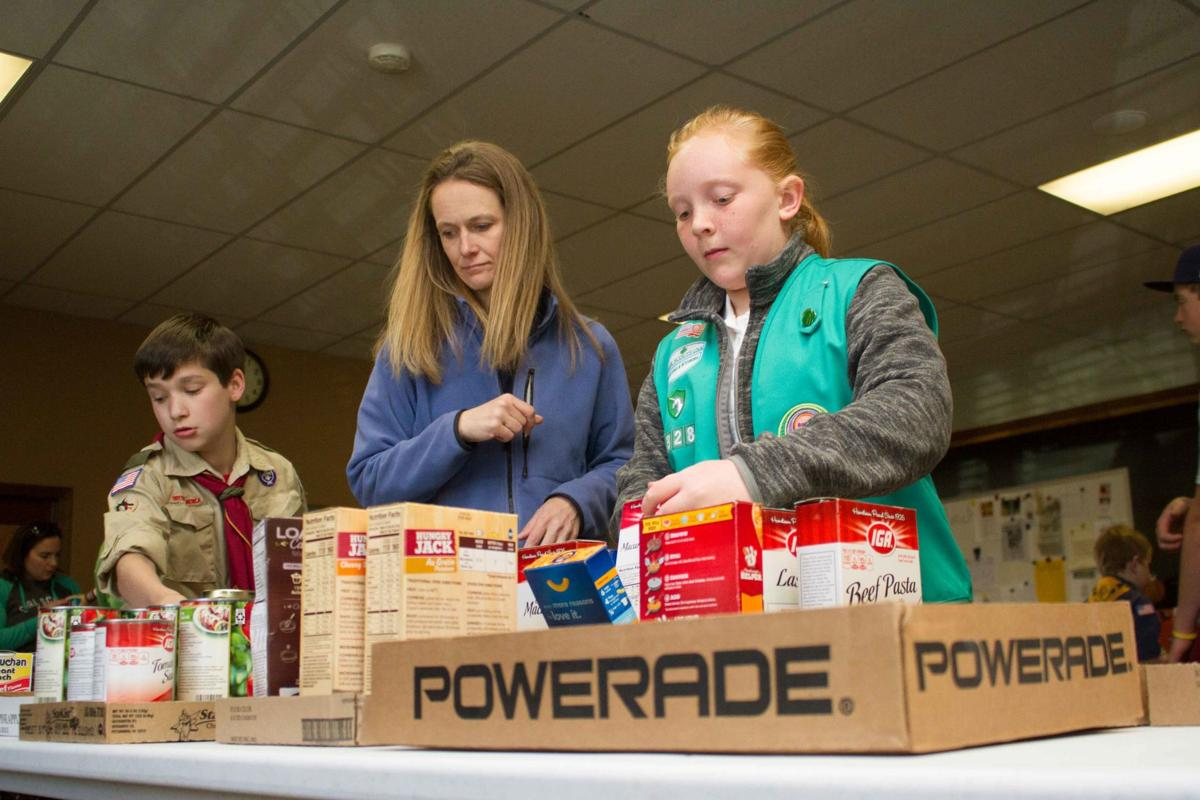Scouts food drive yields generous results for food pantry 3