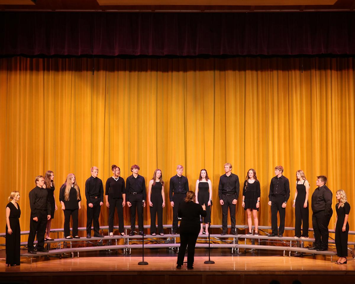 Balladiers opened the spring choir concert with four songs