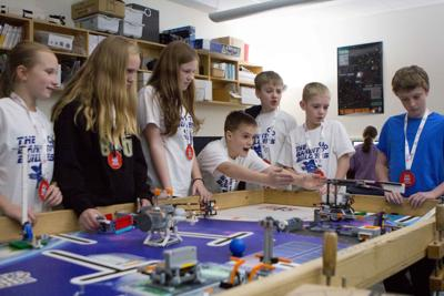 Two JC teams in top ten at Lego League