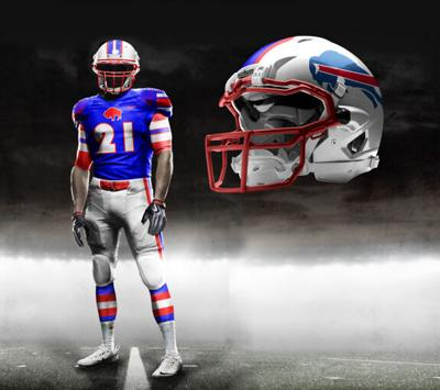 Bills' new duds should recollect 70s, 80s