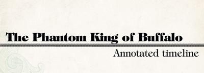 The Phantom King : An annotated timeline
