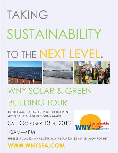 A Green Tour: WNY's Energy-Efficient Buildings