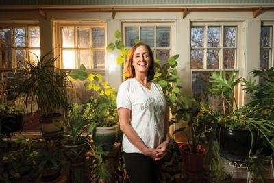 Therese Forton-Barnes, owner of Green Living Gurus