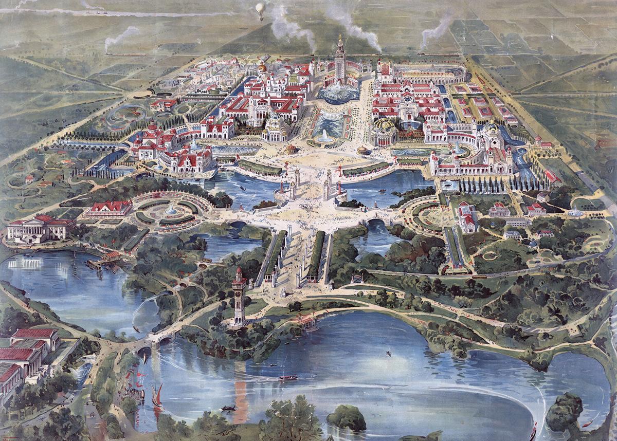 Bird's,Eye,View,Of,The,Pan-american,Exposition,,Buffalo,,May,1