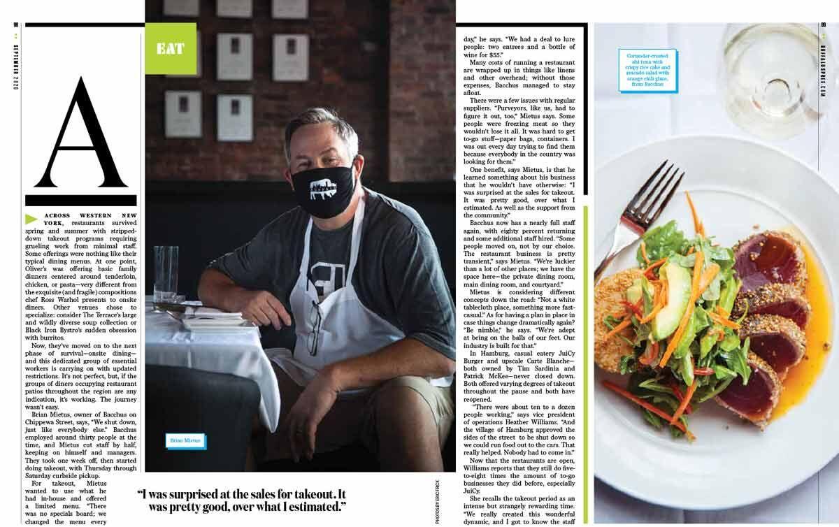 EAT / Local restaurants tough it out