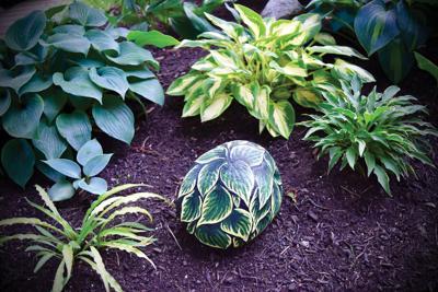 Hand-crafted garden art