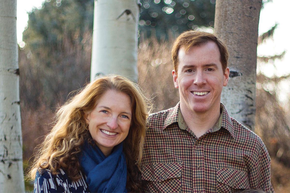 Eric Huebner and wife Caroline Mallonée