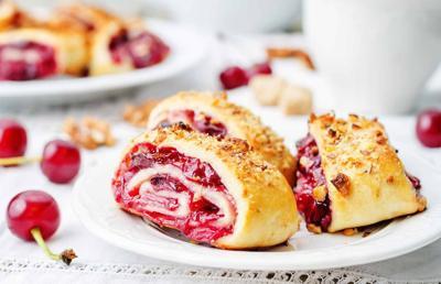 BuffaloSpree.com's Recipe of the week: Cherry and Walnut Kuchen