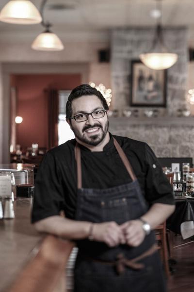 On the line: Victor Parra Gonzalez