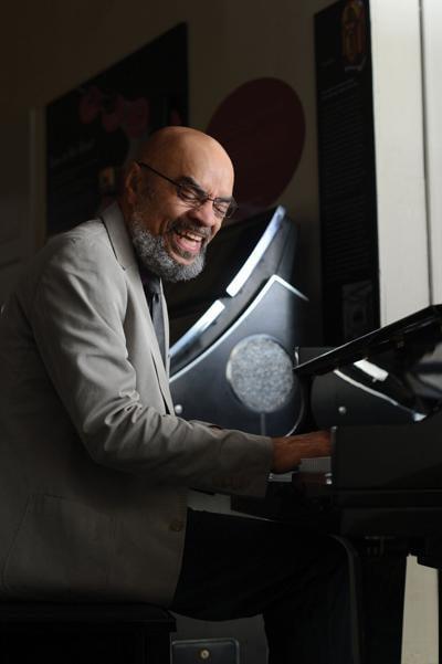 Grammy-winning jazz pianist George Caldwell
