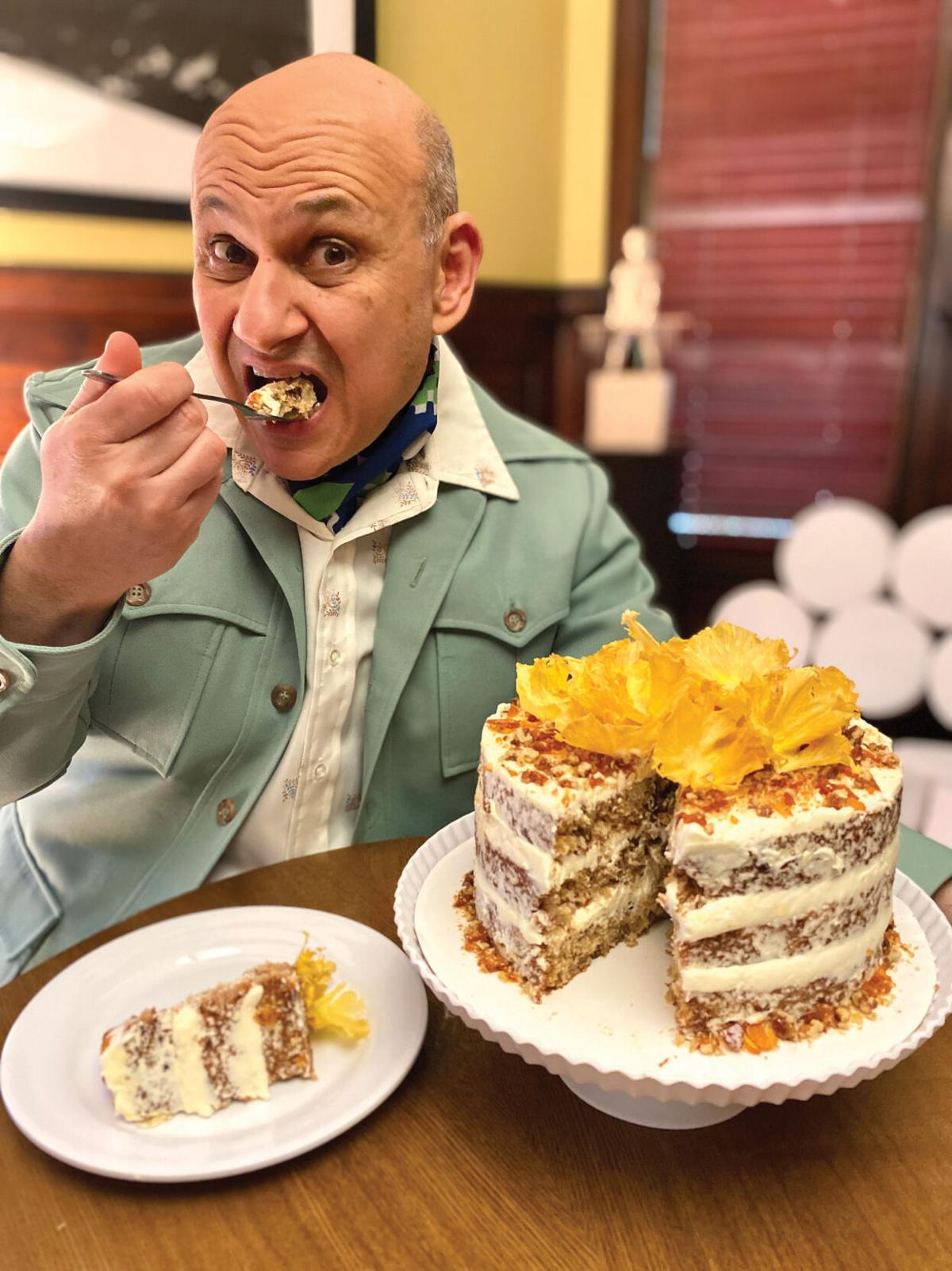 """Michael Mararian, known to Instagram as """"Polyester Bakes"""""""