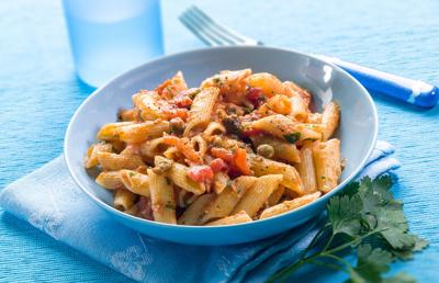 BuffaloSpree.com's Recipe of the Week: Penne Fra Diavolo with Halibut