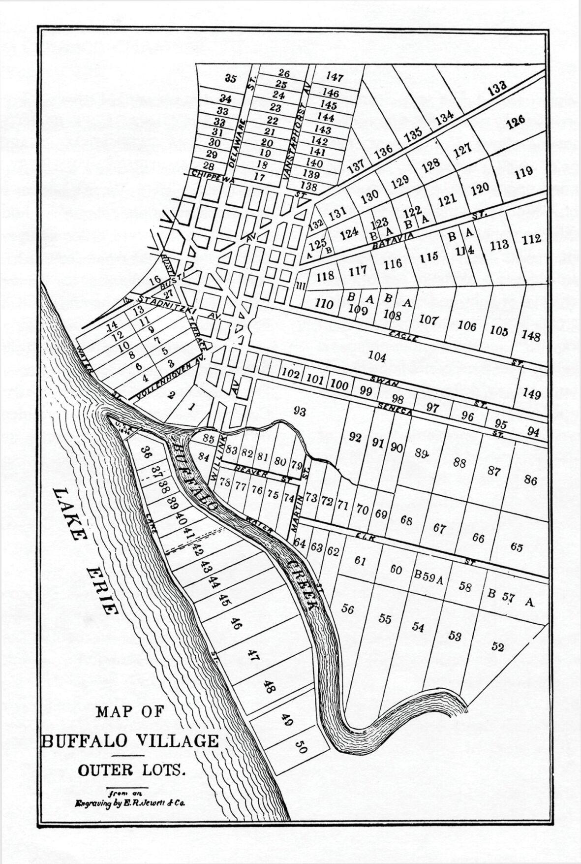 Map of Buffalo Village