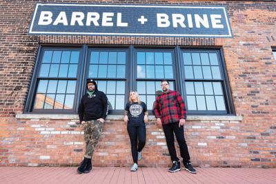 RJ Marvin, Lindsey Marvin, and Dave Valentin of Killer Bees