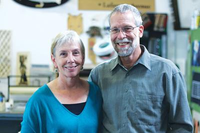 Peter Sowiski and Barbara Rowe: