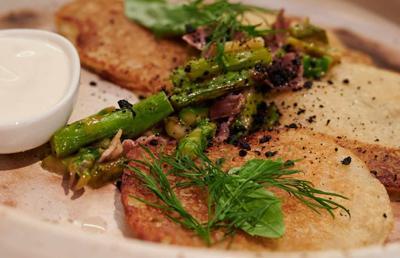 BuffaloSpree.com's Recipe of the week: Asparagus And Potato Pancakes