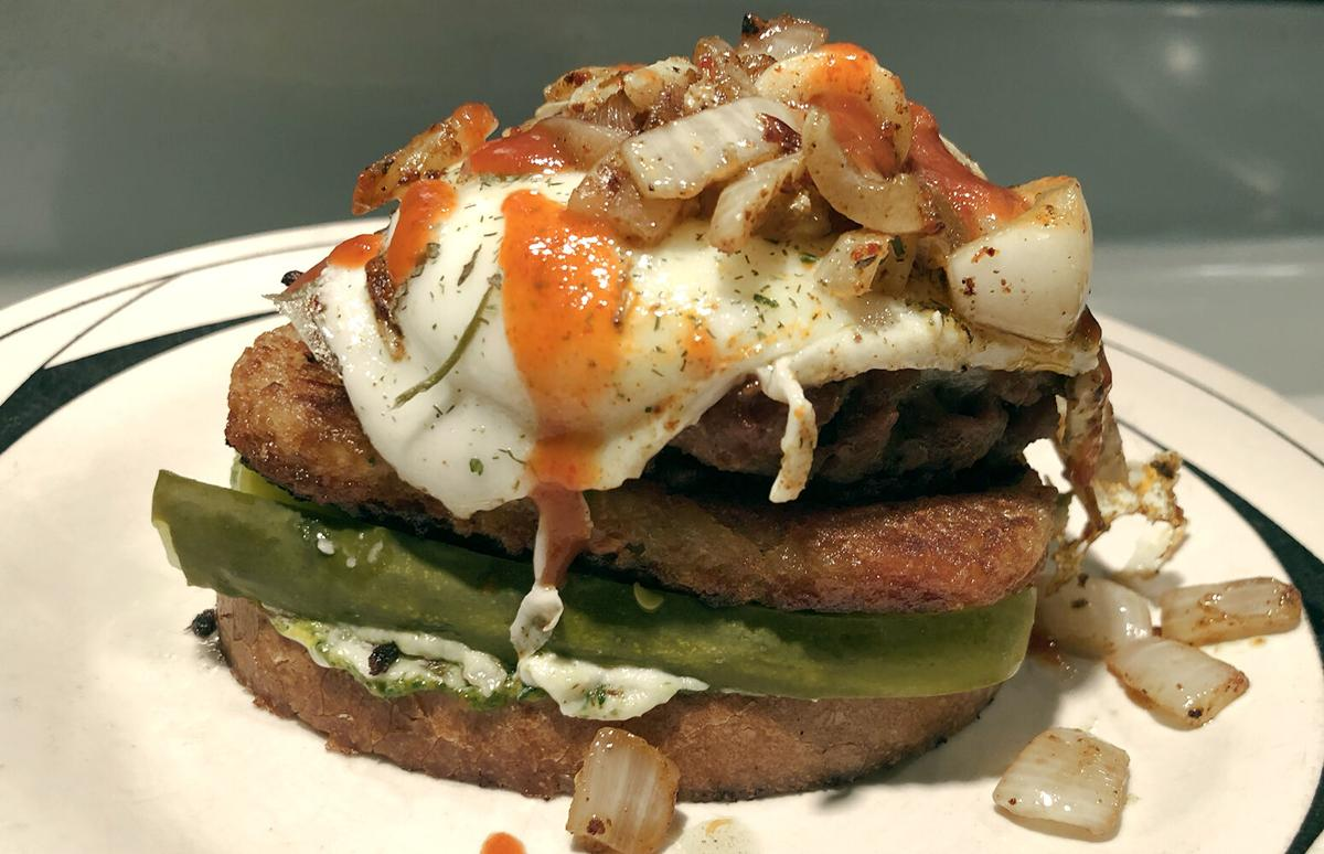 "BuffaloSpree.com's Recipe of the week: Open-faced ""Less Guilt"" Burger"