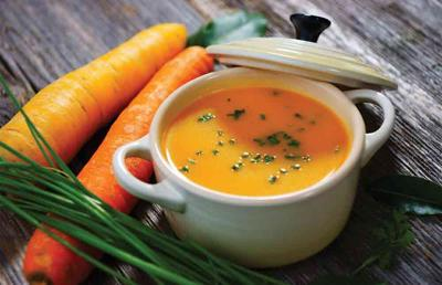 BuffaloSpree.com's Recipe of the week: Baby Carrot Soup with Ginger, Curry and Yogurt