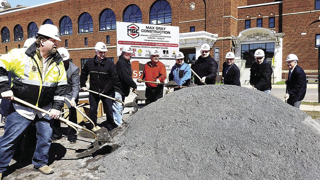Ground broken for new service center