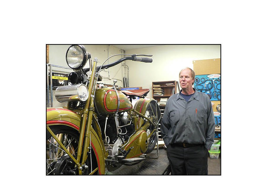Restoring Harleys is a passion at Superior shop