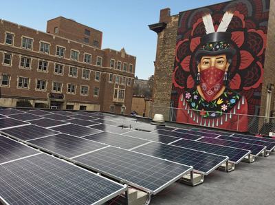 Solar array makes dream a reality